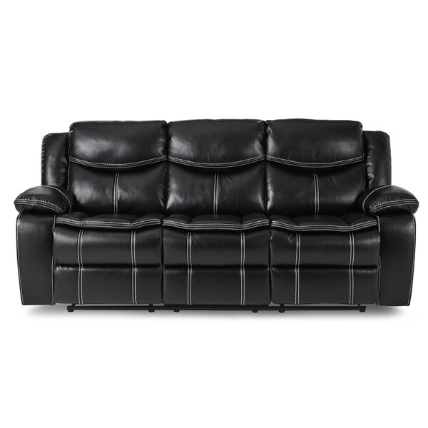 Matherne Double Reclining 88 inches Pillow Top Arms Sofa by Winston Porter Winston Porter