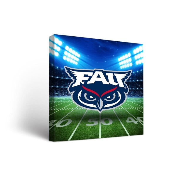 NCAA Stadium Version Framed Graphic Art on Wrapped Canvas by Victory Tailgate