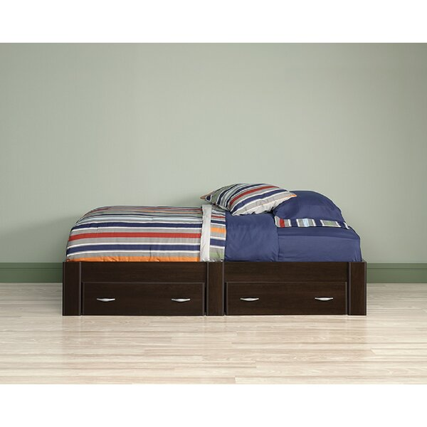 Morrilton Twin Mates & Captains Bed with 2 Drawers by Harriet Bee