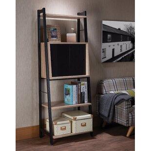 Upshaw Wooden Leaning Ladder Bookcase by Brayden Studio