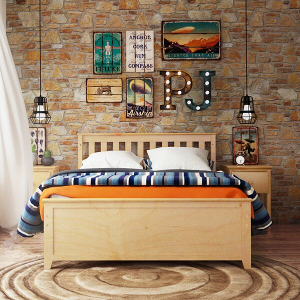 Muncie Solid Wood Mates and Captains Bed with Trundle by Harriet Bee
