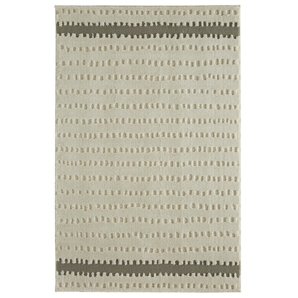 Mohawk Loft Oslo Gray Area Rug by Under the Canopy