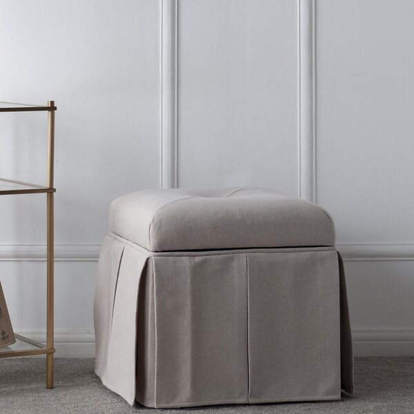 Batesford Tufted Storage Ottoman by Darby Home Co Darby Home Co