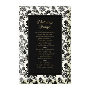 Marriage Prayer Textual Art Plaque by Dexsa