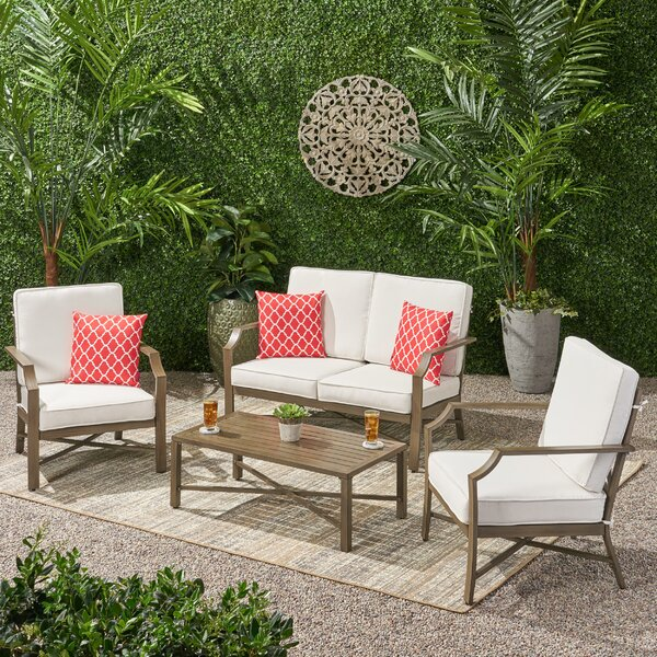 Revilla 4 Piece Multiple Chair Seating Group