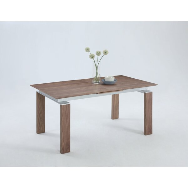Dave Wood Pop-Up Extendable Dining Table by Corrigan Studio