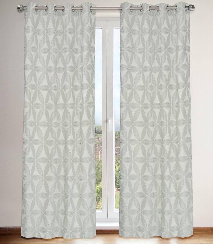 LJ Home Daisy Curtain Panels & Reviews