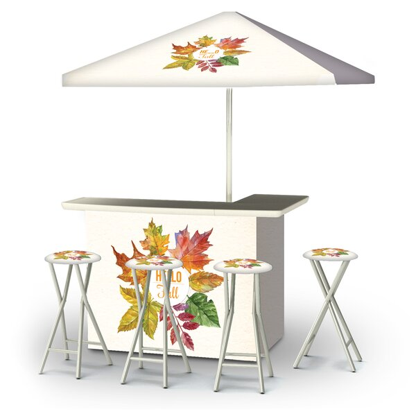 Accord Fall Hello Fall 6-Piece Bar Set by East Urban Home