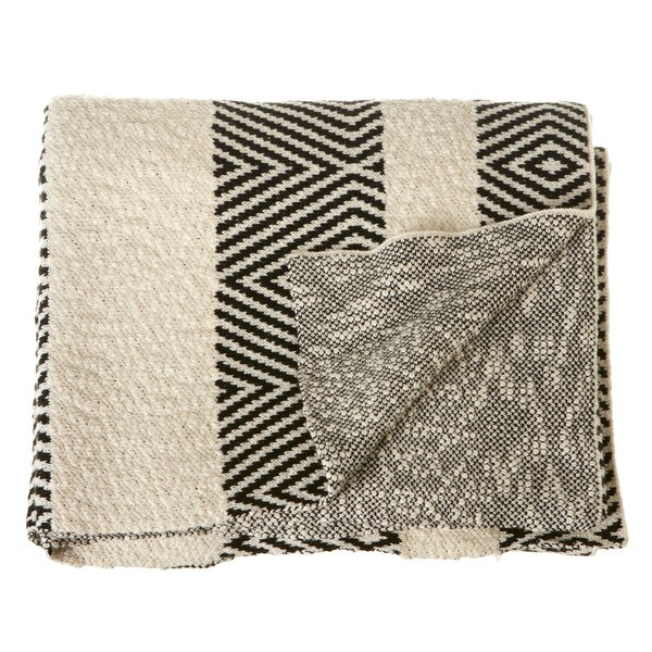 Peguero Knit Cotton Throw by Union Rustic