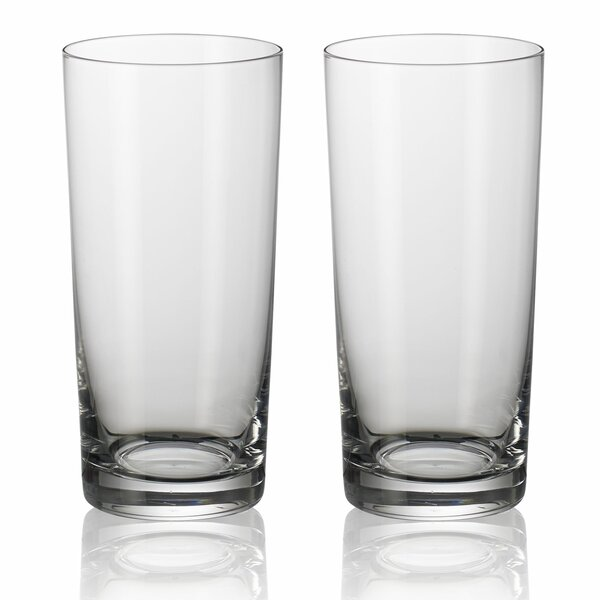 Purismo Bar 19 oz. Crystal Highball Glass (Set of 2) by Villeroy & Boch