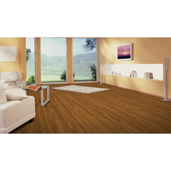 Morgan Hill 6 x 51 x 8mm Tile Laminate Flooring in Centerpoint Oak by American Concepts