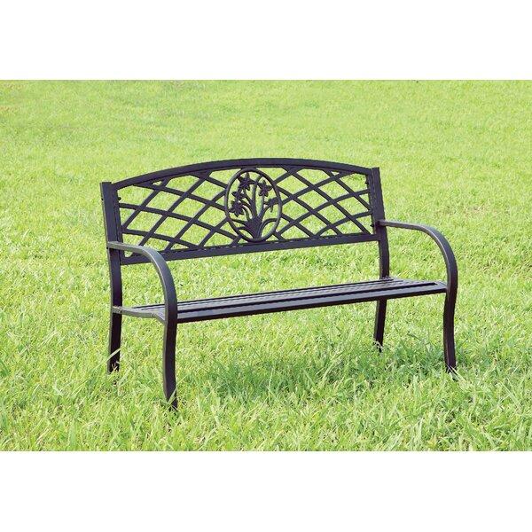 Hoggan Patio Metal Park Bench by Winston Porter