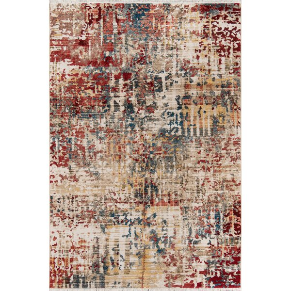 Metheny Red Area Rug by Williston Forge