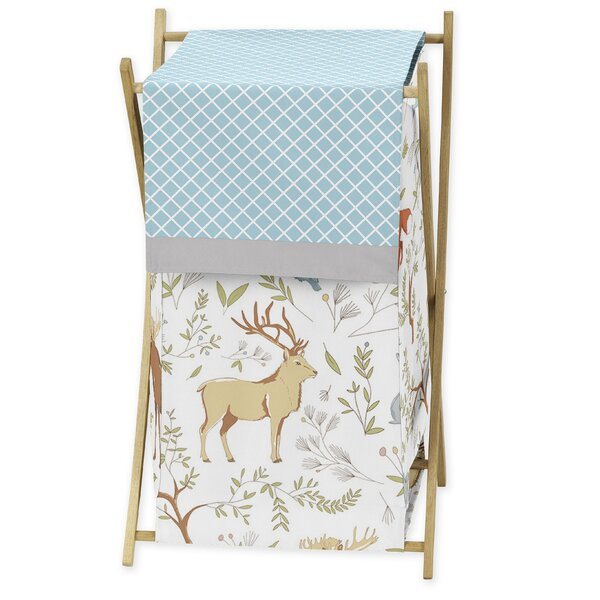 Woodland Toile Laundry Hamper by Sweet Jojo Designs