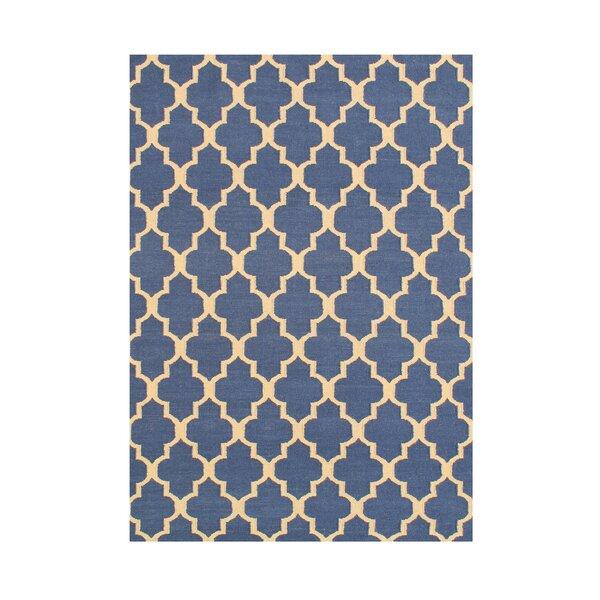 Akaysha  Hand-Tufted Blue Area Rug by Wildon Home ®