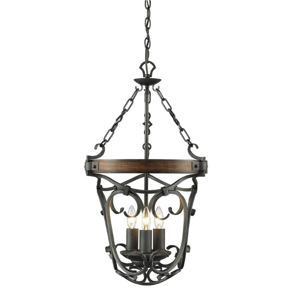 Lucy 3-Light Urn Pendant by Wildon Home ®