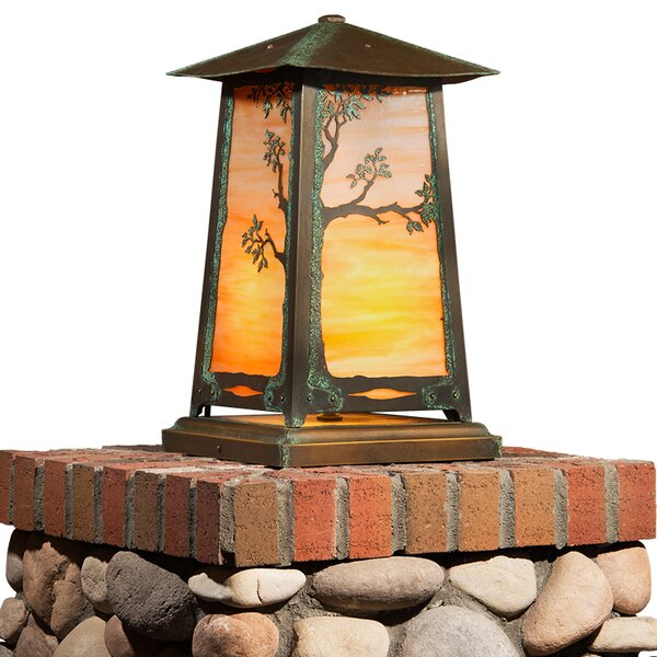 Devaughn Tree 1-Light LED Pier Mount Light by August Grove