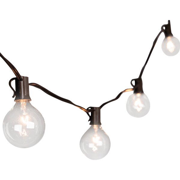20-Light 19 ft. Globe String Lights by The Gerson Companies
