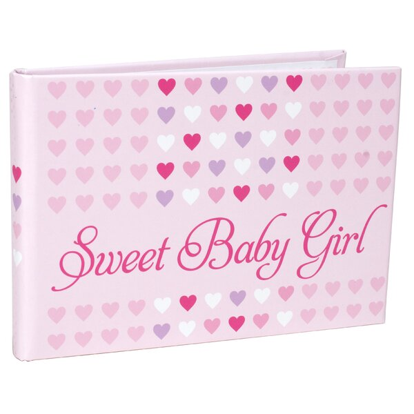 Sweet Baby Girl Picture Frame by Harriet Bee