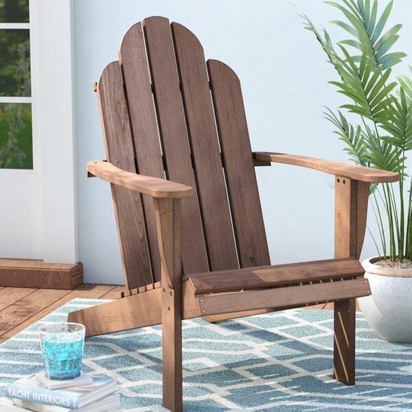 Knowlson Solid Wood Adirondack Chair by Beachcrest