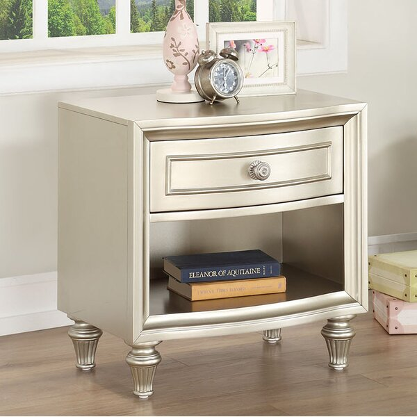 Anette 1 Drawer Nightstand by Willa Arlo Interiors
