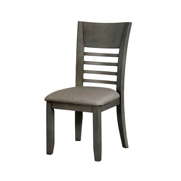 Gennessee Upholstered Dining Chair (Set of 2) by Loon Peak Loon Peak