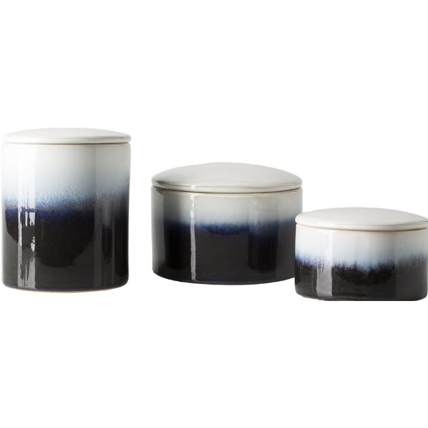 Vance 3 Piece Kitchen Canister Set by Latitude Run