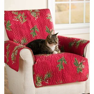 Pet Box Cushion Sofa Slipcover by Plow & Hearth