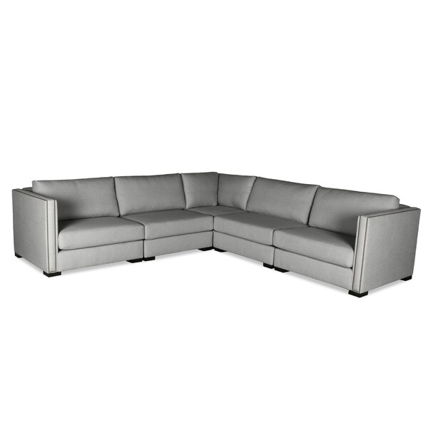 Timpson Symmetrical Right And Left Arms L-Shape Modular Sectional By Latitude Run