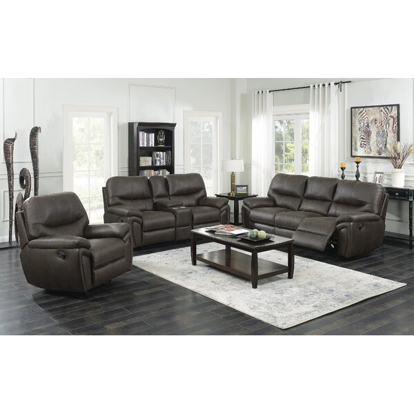 Quance Reclining Configurable Living Room Set By Winston Porter Modern