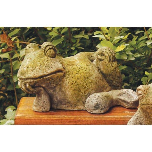 Animals Gossip Frog Statue & Reviews | Birch Lane
