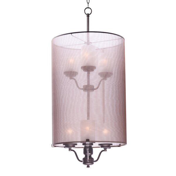 Tiltonsville 6 - Light Shaded Tiered Chandelier By Darby Home Co