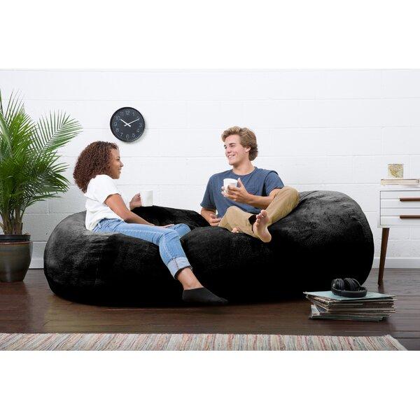 Big Joe Lux Bean Bag Sofa by Comfort Research