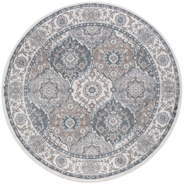 Dolphus Traditional Oriental Cream Area Rug by Darby Home Co