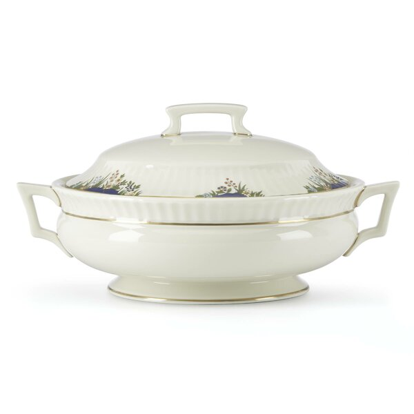 Rutledge 48 oz. Covered Vegetable Bowl by Lenox