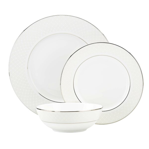 Venetian Lace 3 Piece Place Setting, Service for 1 by Lenox