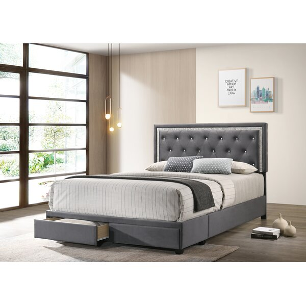 Butera Upholstered Storage Platform Bed By Red Barrel Studio by Red Barrel Studio Bargain