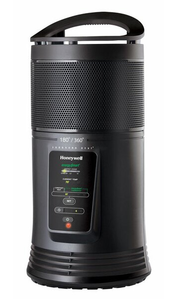 EnergySmart Portable Electric Compact Heater with Thermostat by Honeywell