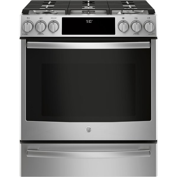 30 Slide-In Gas Range by GE Profile™