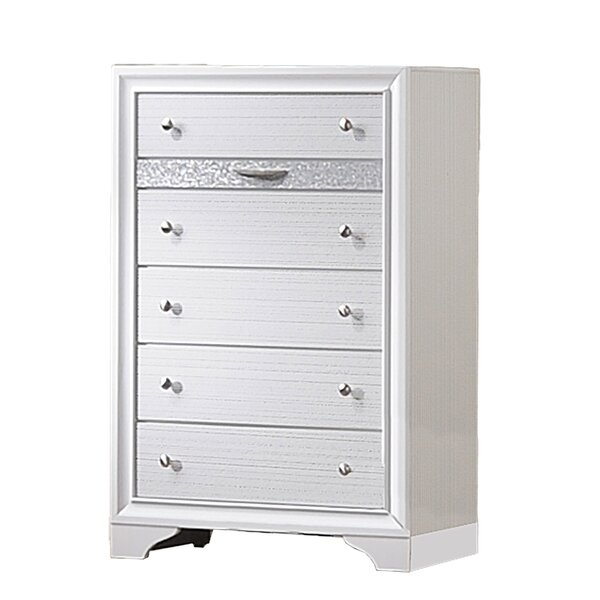 Smeltzer 5 Drawer Chest by House of Hampton
