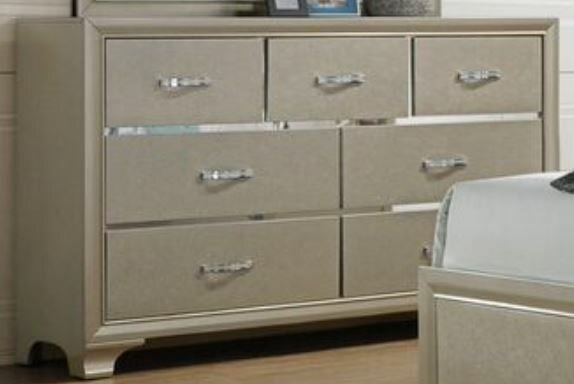 Sartin 7 Drawer Double Dresser by House of Hampton