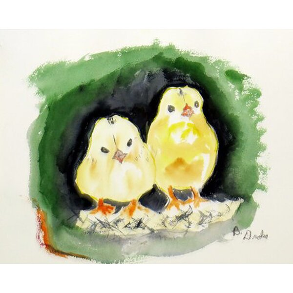 Chicks Placemat (Set of 4) by Betsy Drake Interiors