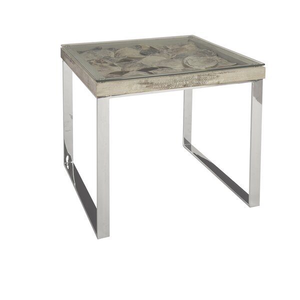 Shell End Table by Phillips Collection