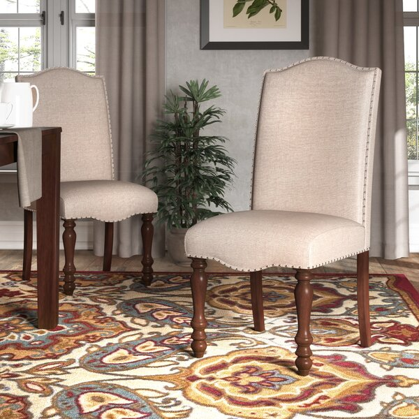 Cara Upholstered Dining Chair (Set of 2) by Darby Home Co