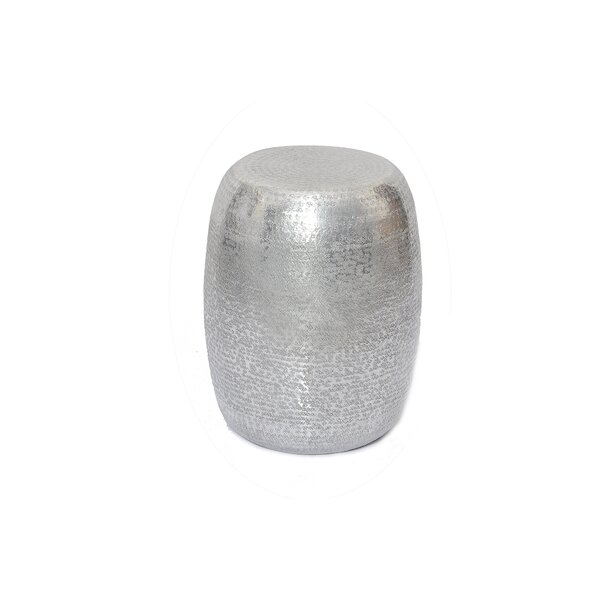 Marrakech Hammered Metal End Table by Fashion N You by Horizon Interseas