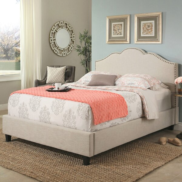 Mélanie Upholstered Platform Bed by Birch Lane™ Heritage