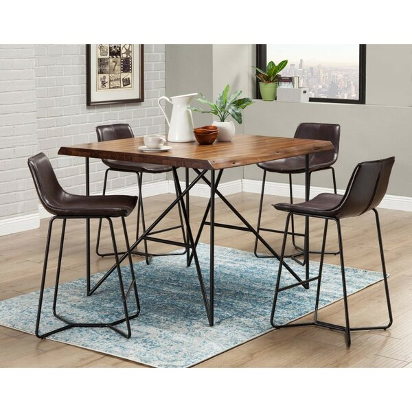 Ava 5 Piece Pub Table Set by 17 Stories