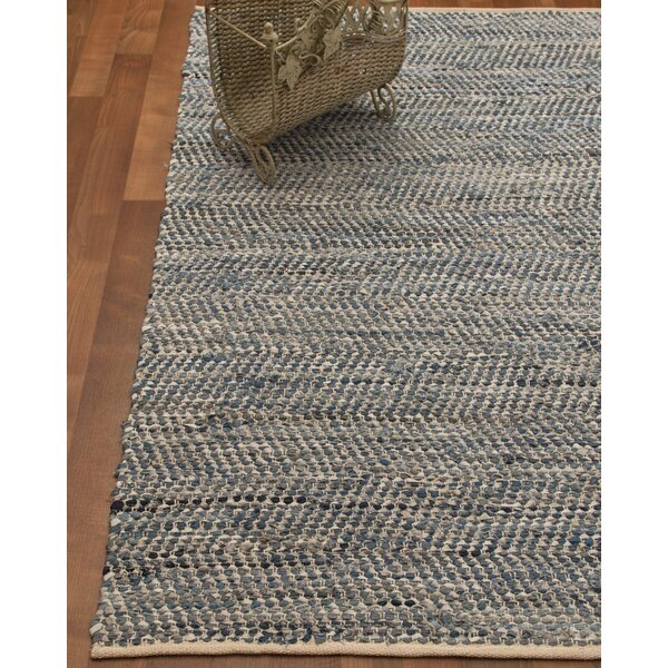 Cayman Hand-Loomed Blue Area Rug by Natural Area Rugs