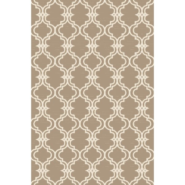 Coghlan Ivory/Beige Area Rug by Charlton Home