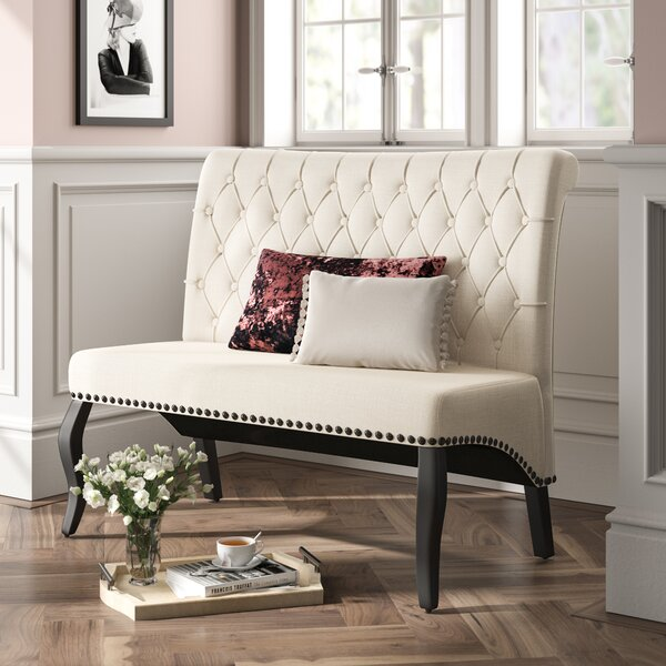 Arick Upholstered Bench by House of Hampton